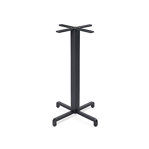 Fiore Bar Height Table Base - Anthracite