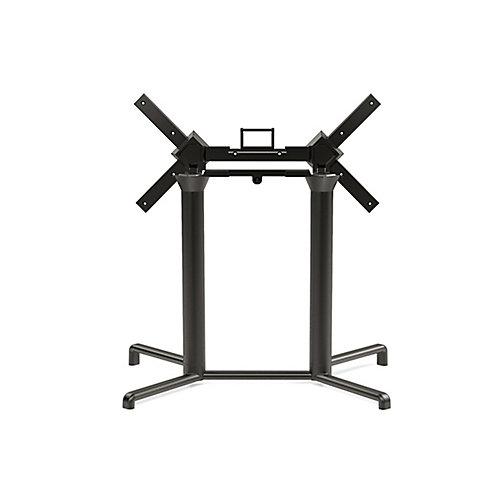 Scudo Double Tilting Dining Table Base - Anthracite