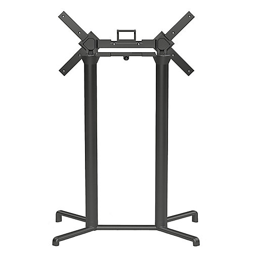 Scudo Double Tilting Bar Table Base - Anthracite