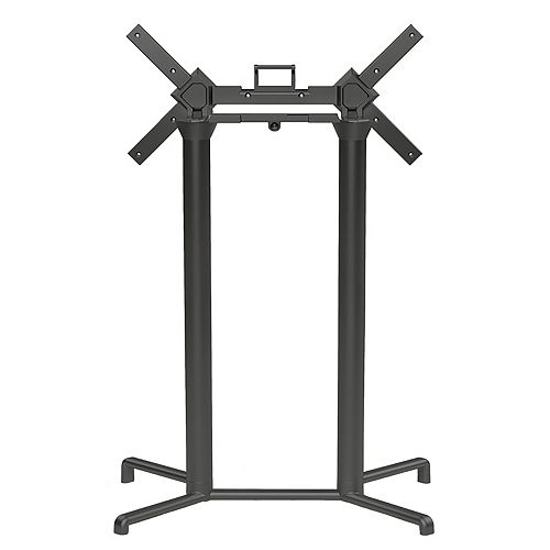 Nardi Scudo Double Tilting Bar Table Base - Anthracite