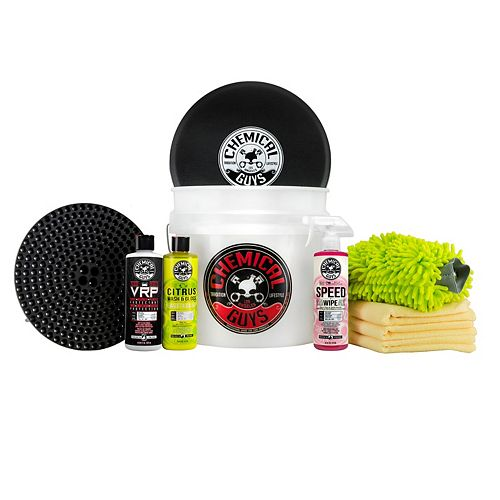 Chemical Guys Best 10-Piece Car Wash Bucket Kit