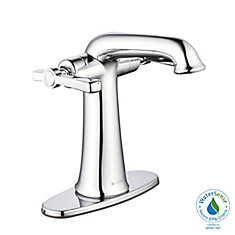 Myer Single Hole 2-Handle Bathroom Faucet in Polished Chrome