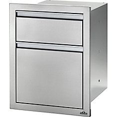 18 inch X 24 inch Double Drawer: Large and Standard
