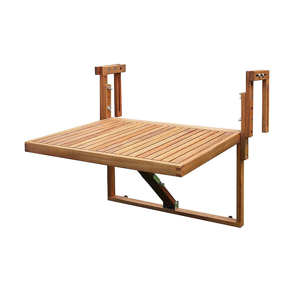 Toronto Table de balcon, teck doré