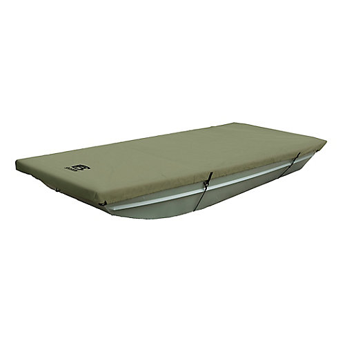 Jon Boat Cover, Fits Jon Boats 14 ft. L x 62 inch W, Weather Protected Fabric, Model B