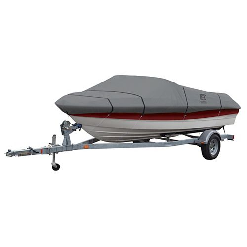 Classic Accessories Lunex RS-1 Boat Cover, Fits Boats 20 ft. - 22 ft. L x 106 inch W