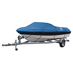 Classic Accessories Stellex All Seasons Boat Cover, Fits Boats 22 ft. - 24 ft. L x 116 inch W