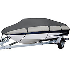 Orion Deluxe Boat Cover, Fits Boats 16 ft. - 18.5 ft. L x 98 inch W