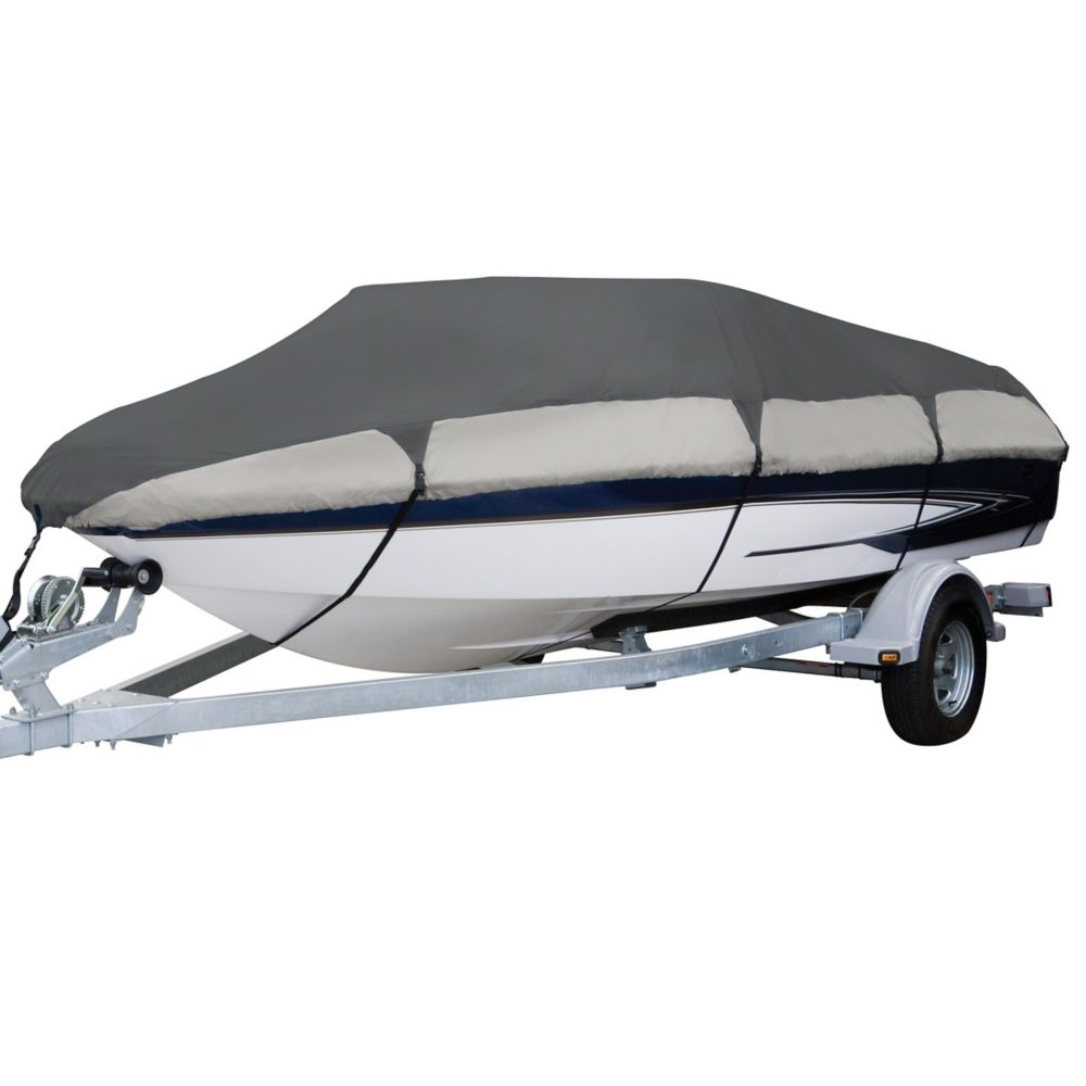 Classic Accessories Orion Deluxe Boat Cover, Fits Boats 16 ft. - 18.5 ft. L x 98 inch W