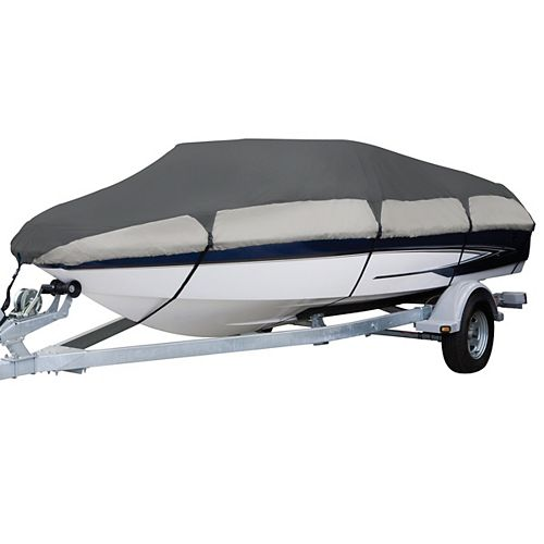 Classic Accessories Orion Deluxe Boat Cover, Fits Boats 20 ft. - 22 ft. L x 106 inch W