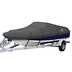 Classic Accessories StormPro Deck Boat Cover, Fits Boats 20 ft. - 22 ft. L x 106 inch W