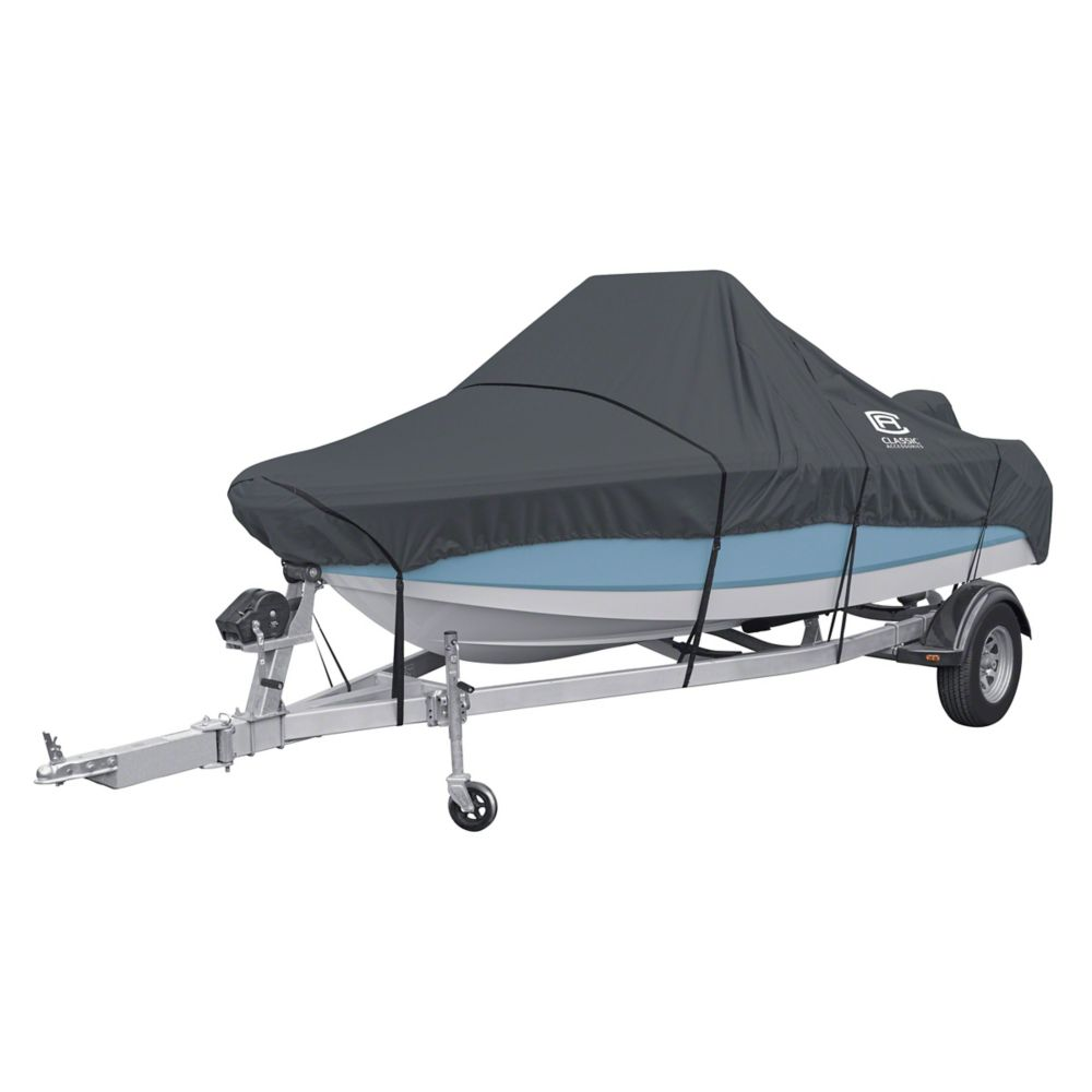 Classic Accessories StormPro Center Console Boat Cover, Fits Boats 20 ft. - 22 ft. L x 106 inch W