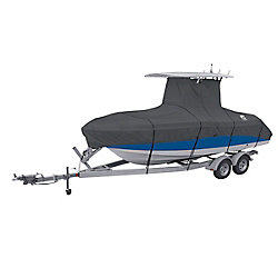 Classic Accessories StormPro T-Top Boat Cover, Fits Boats 20 ft. - 22 ft. L x 106 inch W