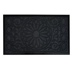 30-inch x 18-inch Flower Pot Decorative Mat
