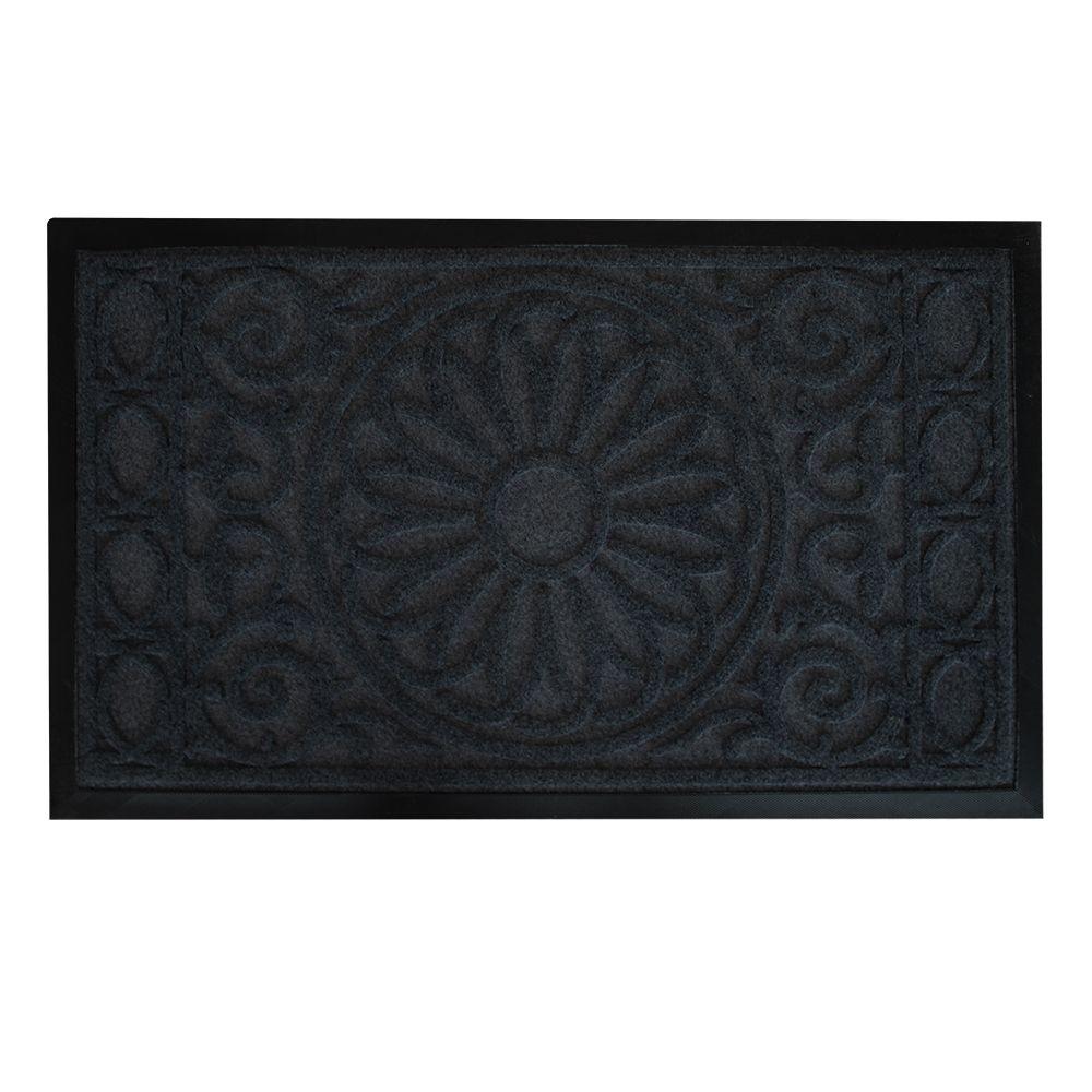 Floor Choice 30-inch x 18-inch Flower Pot Decorative Mat