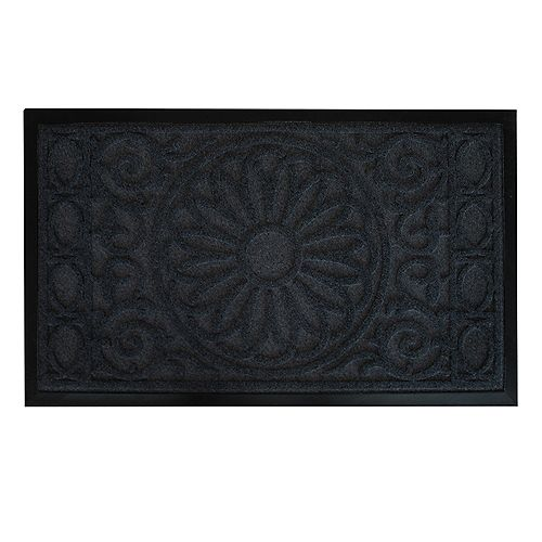 Floor Choice 30-inch x 18-inch Flower Pot Decorative Mat