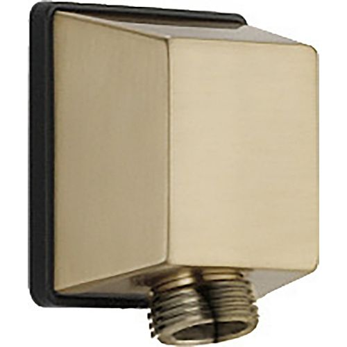 Delta Square Wall Elbow for Hand Shower in Champagne Bronze