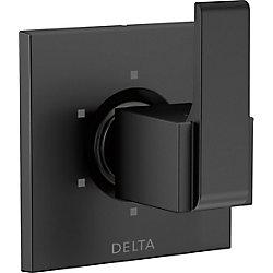 Delta Ara 6-Setting Diverter Trim, Matte Black