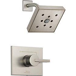Vero Monitor 14 Series Shower Trim with H2Okinetic, Stainless Steel
