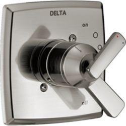 Delta Garniture de valve seulement Ashlyn de la série MonitorMD17, acier inoxydable