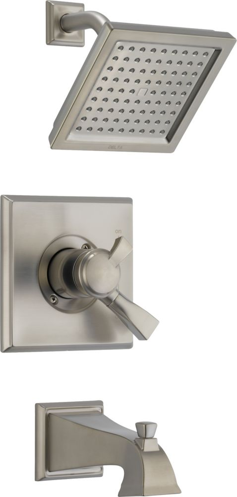 Delta Dryden Monitor 17 Series Shower Trim, Stainless Steel