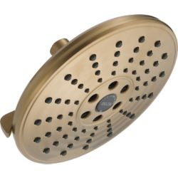 Delta 3 Setting H2OKinetic Transitional Raincan Shower Head, Champagne Bronze