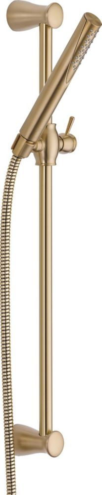 Delta Grail Slide Bar Hand Shower, Champagne Bronze