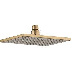 Vero Single Setting, Overhead Shower Head, Champagne Bronze