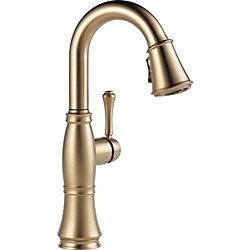 Delta Cassidy Single Handle Bar/Prep Faucet, Champagne Bronze
