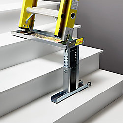 Ideal Security Ladder-Aide Pro For Type 1AA Ladders - The Safe and Easy Way to Work on Stairs