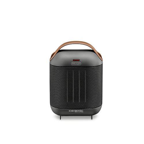 DeLonghi Capsule Ceramic Heater Grey