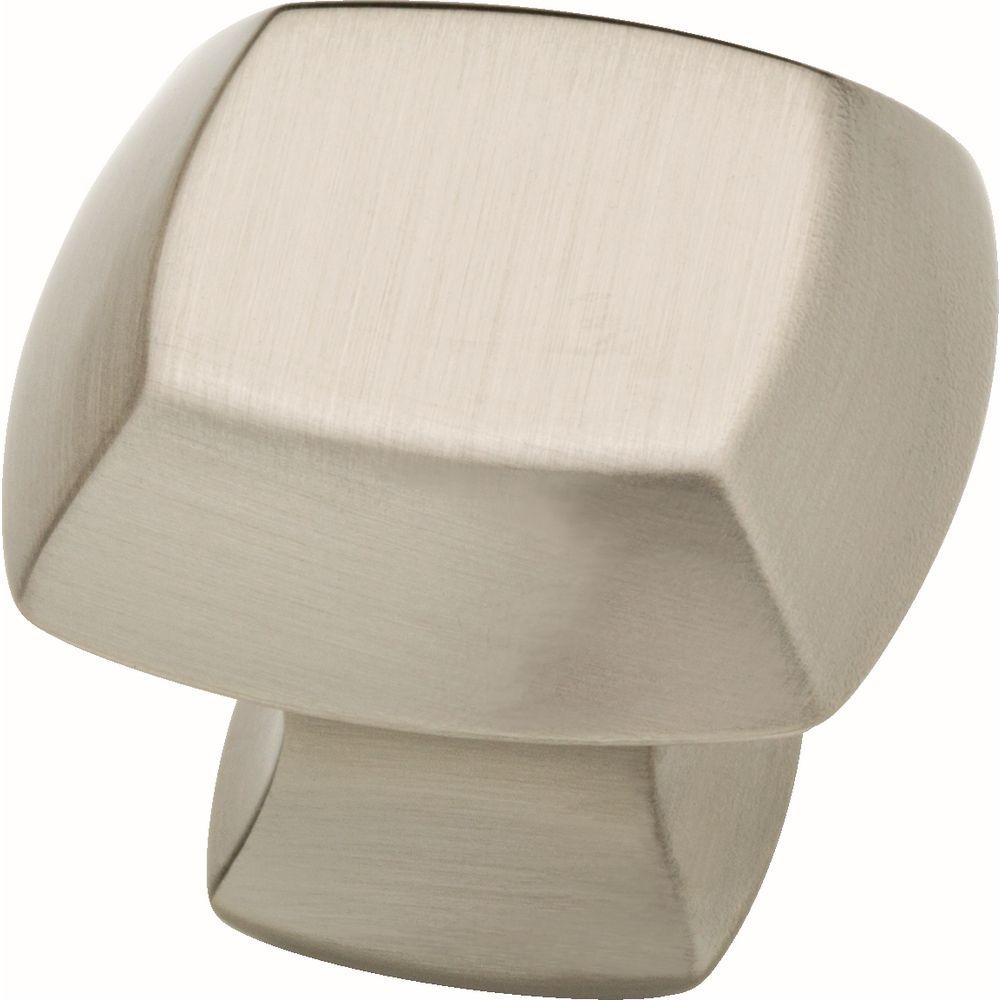 Delta Mandara 1-1/4 inch Brushed Nickel Cabinet Knob (4-Pack)