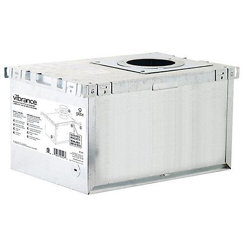 IC Rated Aluminum Recessed Lighting Insulation Box