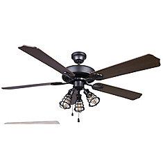 OTTO 52 inch Graphite Ceiling Fan