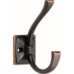 Liberty Ruavista 4-1/3 inch Venetian Bronze with Copper Highlights Coat and Hat Hook