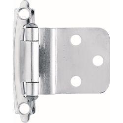 Liberty Charnière encastrée à fermeture automatique, 10mm, chrome (1paire)