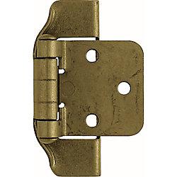 Liberty Charnière semi-superposée, 13mm, laiton antique (1paire)