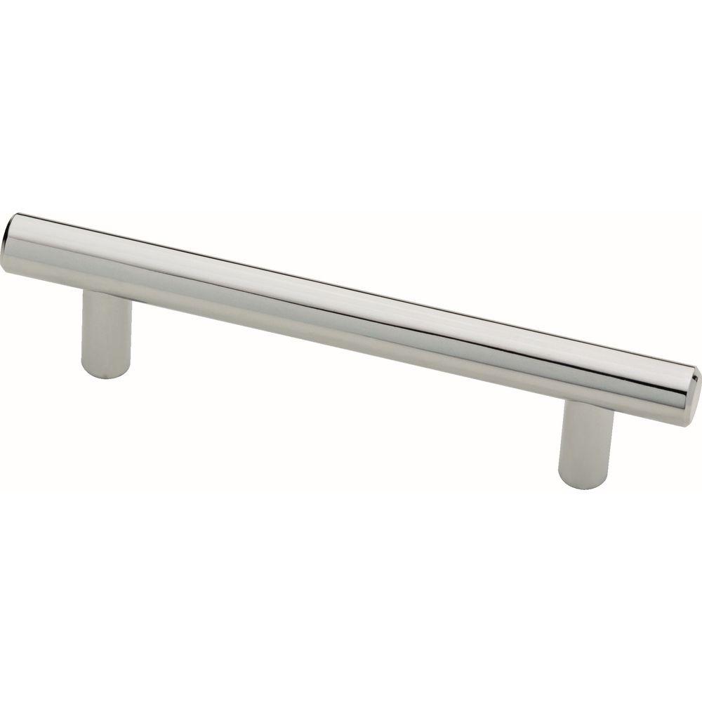 Liberty 3-3/4 inch (96mm) Polished Chrome Bar Pull