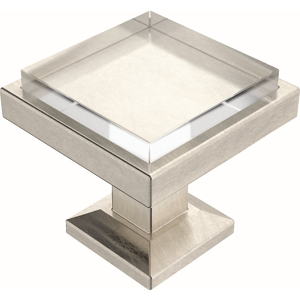 Liberty Classic Square 1-1/4 inch (32mm) Satin Nickel and ...