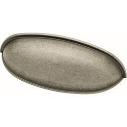 Liberty Poignée en forme de coupelle , 64mm (21/2po), fer antique (paq.12)