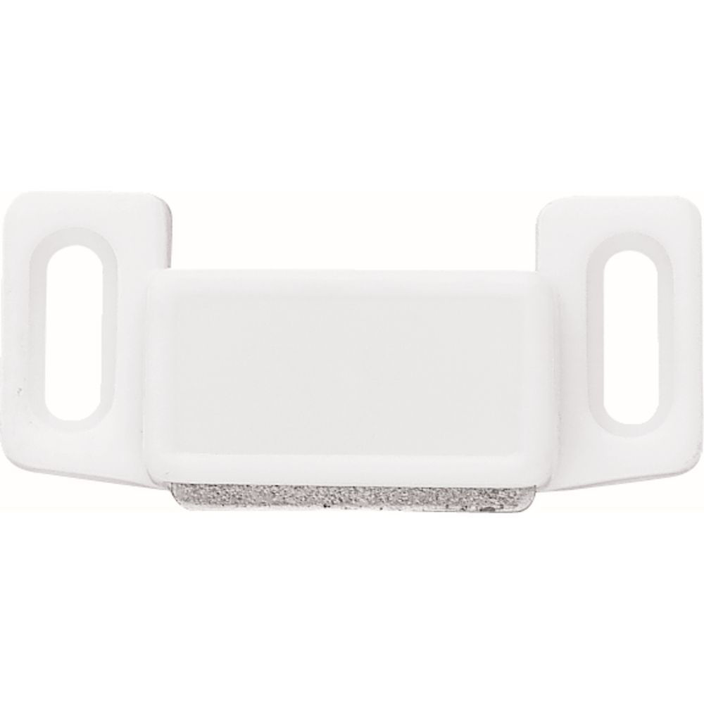 Liberty 1-1/2 inch White Economy Magnetic Door Catch (10-Pack)
