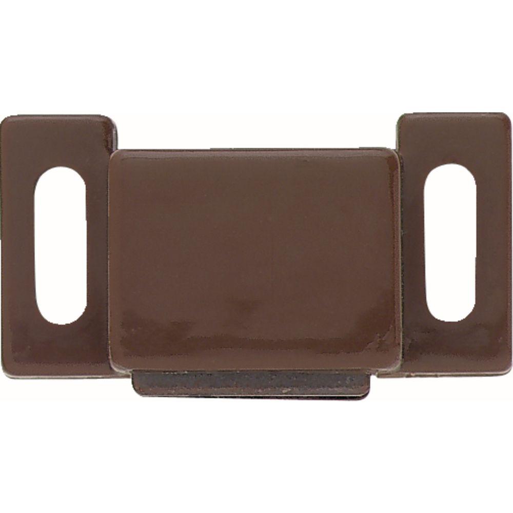 Liberty 1 inch Brown Magnetic Door Catch (10-Pack)