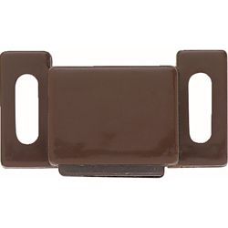 Liberty Loquet magnétique, 25mm, brun (paq.10)