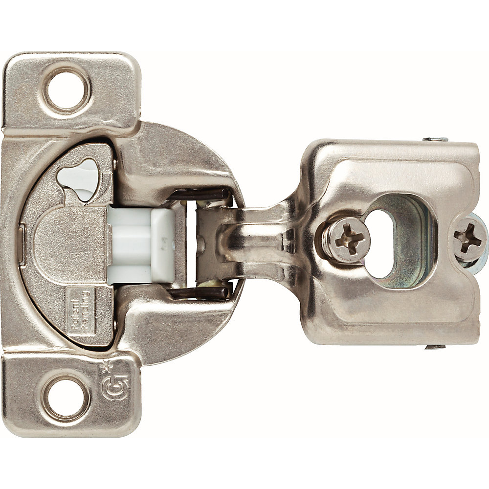 35 mm 110-Degree 3/4 inch Overlay Soft Close Cabinet Hinge (1-Pair)