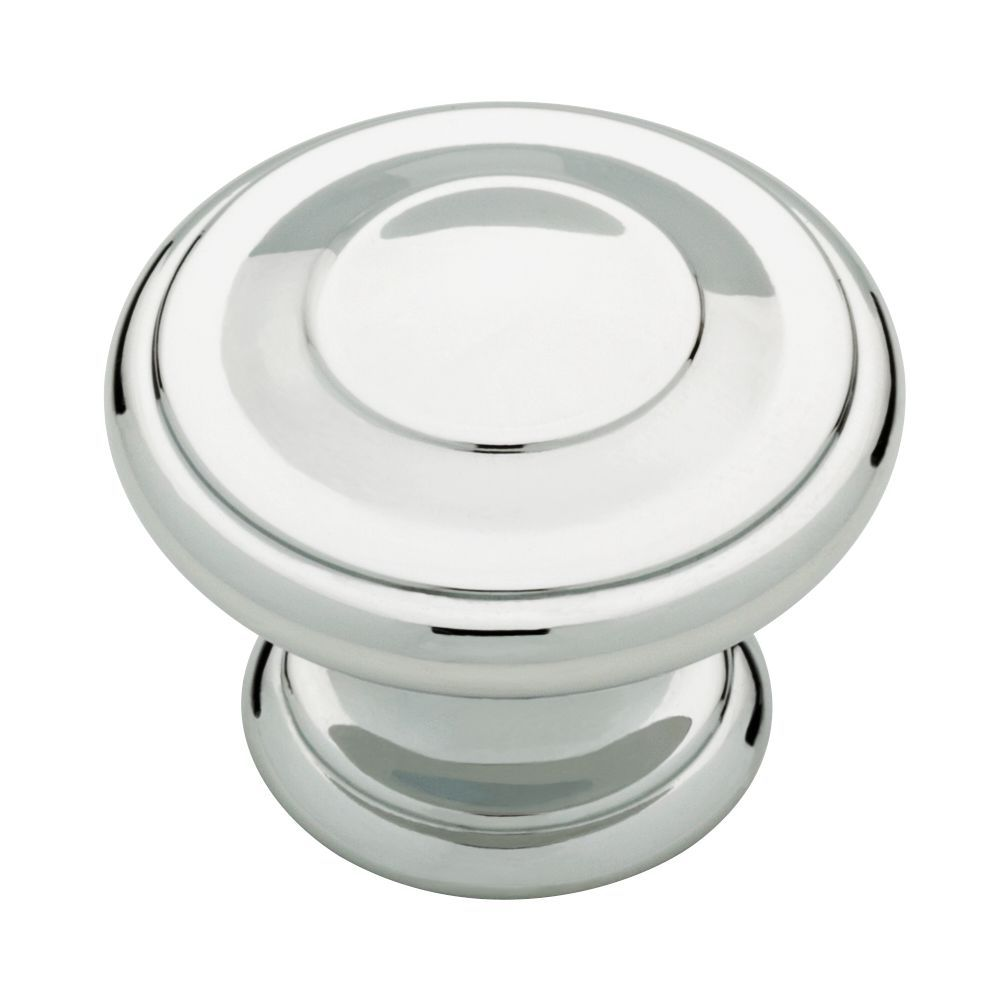 Liberty 1-3/8 inch Polished Chrome Harmon Cabinet Knob