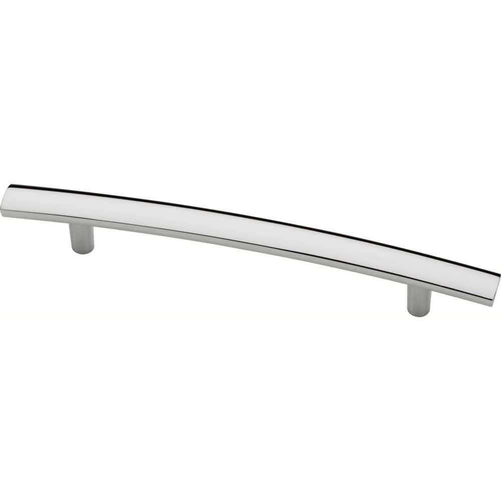 Liberty 5-1/16 inch (128mm) Polished Chrome Arch Cabinet Pull