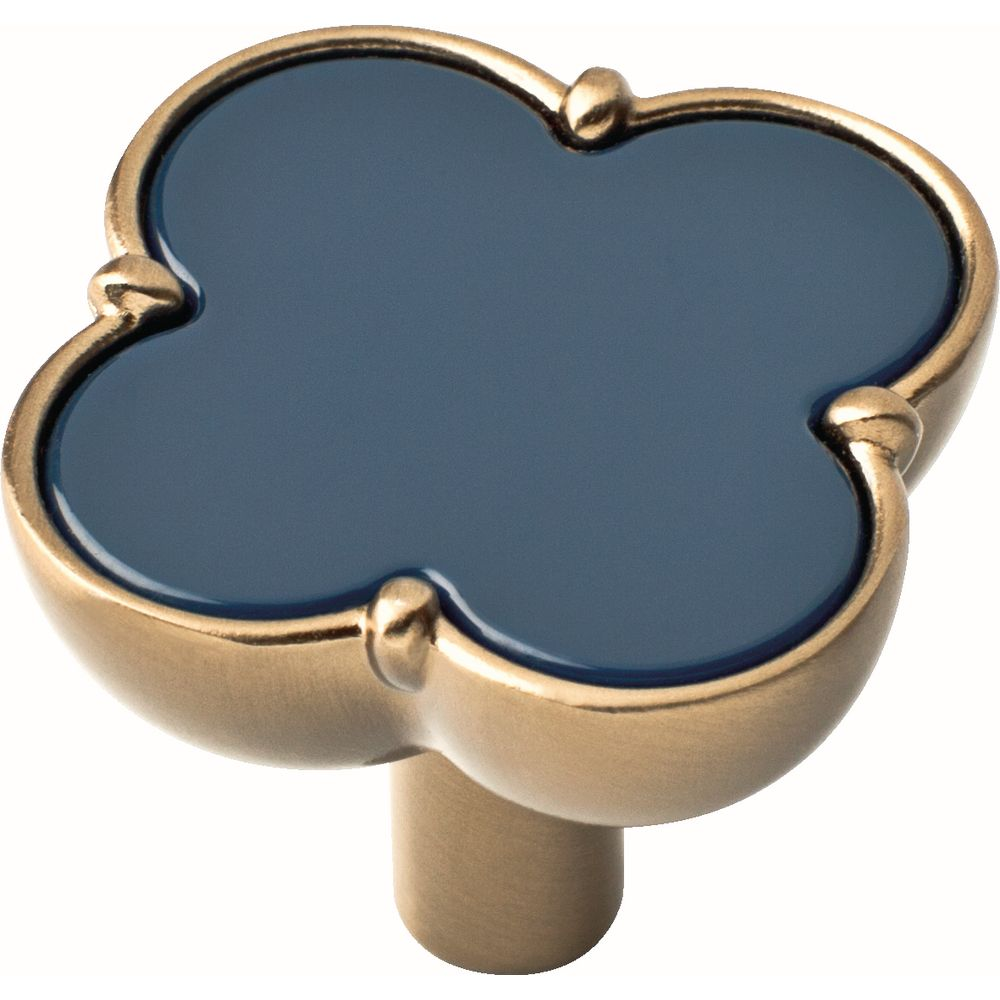 Liberty 1-1/3 inch Navy Clover Cabinet Knob