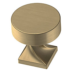 Liberty Everly 1-1/8 inch (28.5 mm) Champagne Bronze Cabinet Knob