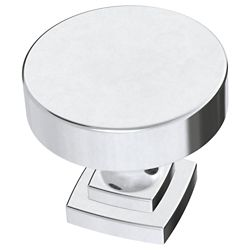 Liberty Classic Bell 1-1/4 inch (32mm) Polished Chrome Cabinet Knob