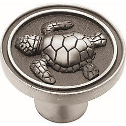 Liberty Seaside Cottage 1-3/8 inch (35mm) Turtle Round Cabinet Knob